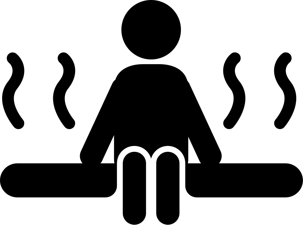 Person Silhouette In Sauna Svg Png Icon Free Download - Word doc invoice template download silhouette online store