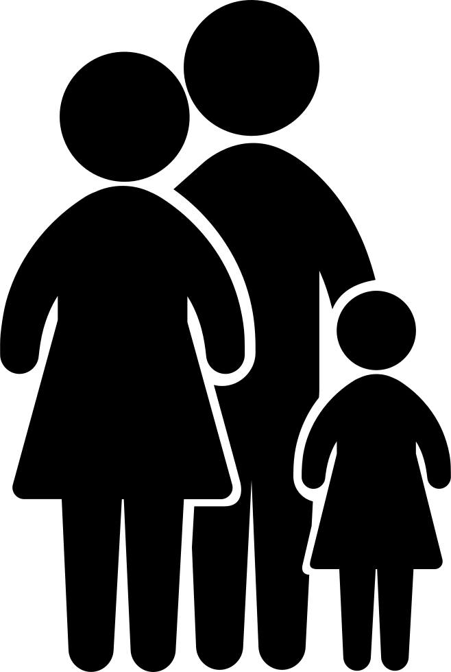 Family Group Of Three Svg Png Icon Free Download (#38238 ...