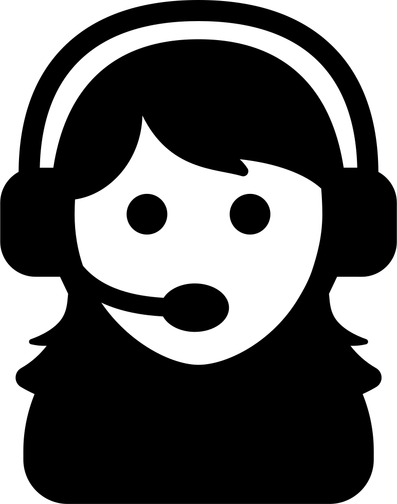 Female Assistant Of A Call Center Svg Png Icon Free Download 38266 Onlinewebfonts Com