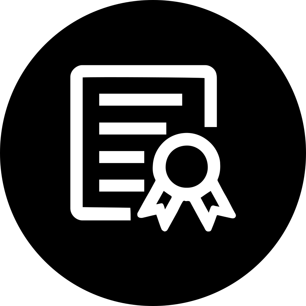 skills certificate svg png icon free download 406217