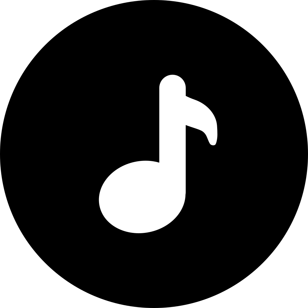 Music Note Inside A Circle Svg Png Icon Free Download ...