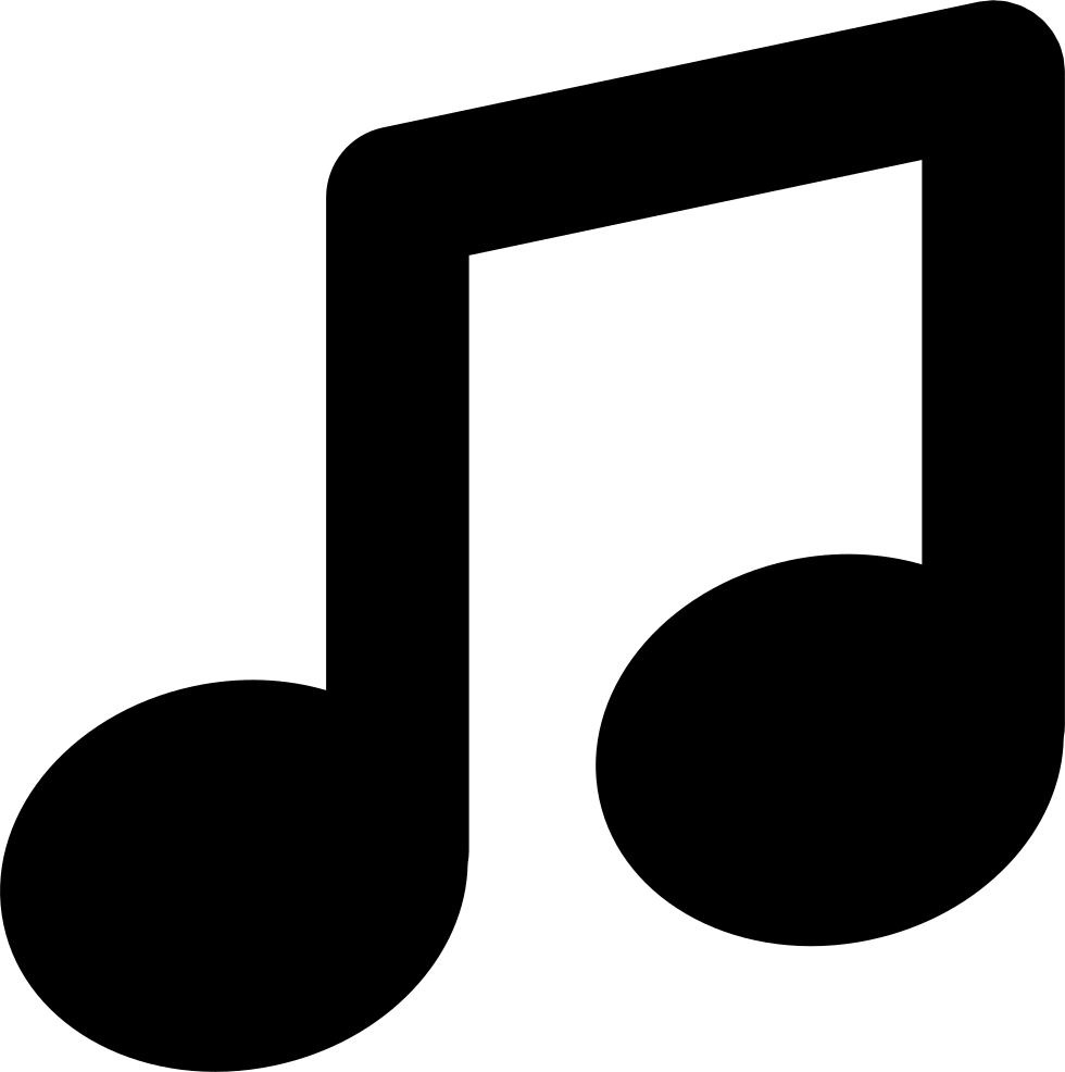 symbol music note icon svg icons vector file onlinewebfonts eps edit ago check years