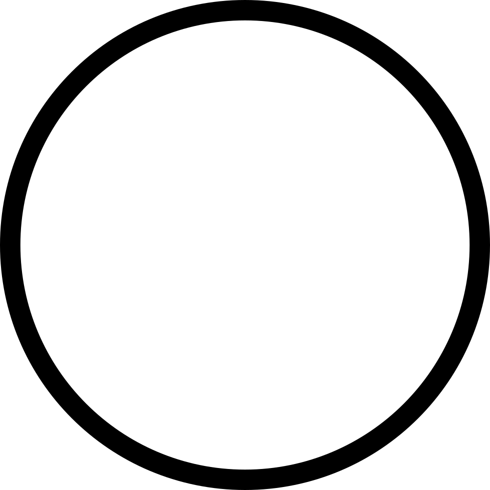 Ios Circle Outline Svg Png Icon Free Download (#411551