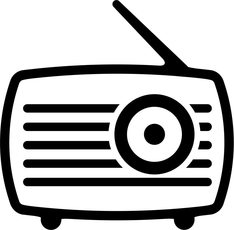 Old Radio With Antenna Svg Png Icon Free Download (#41553