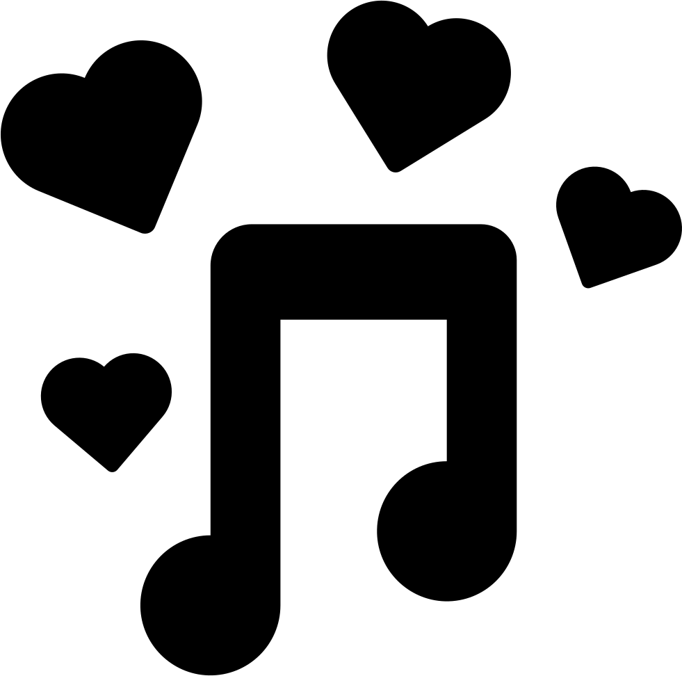 icon music icons romantic svg onlinewebfonts latest
