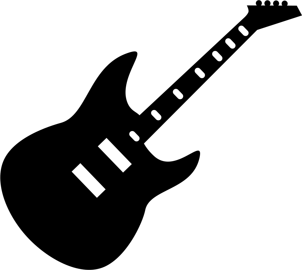 Electric Guitar L Svg Png Icon Free Download 416170