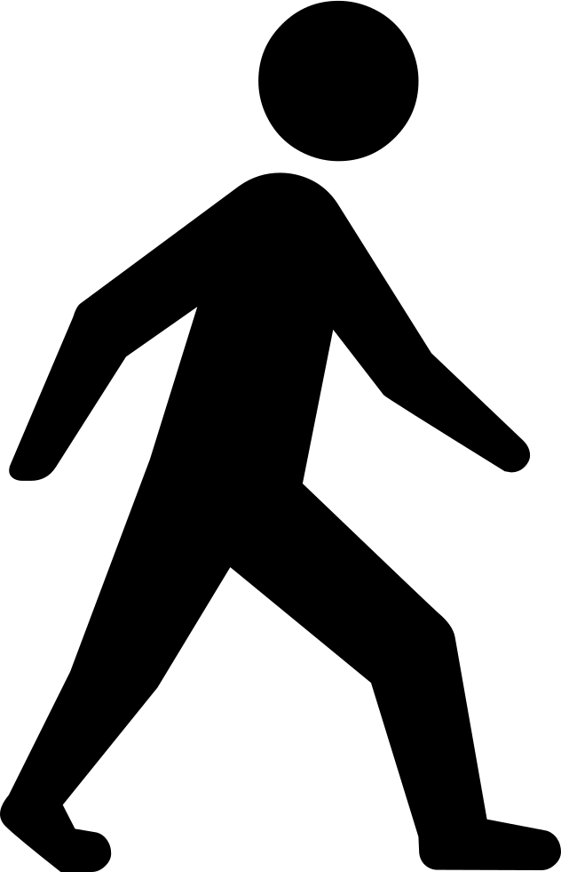 person walking svg png icon free download 425989