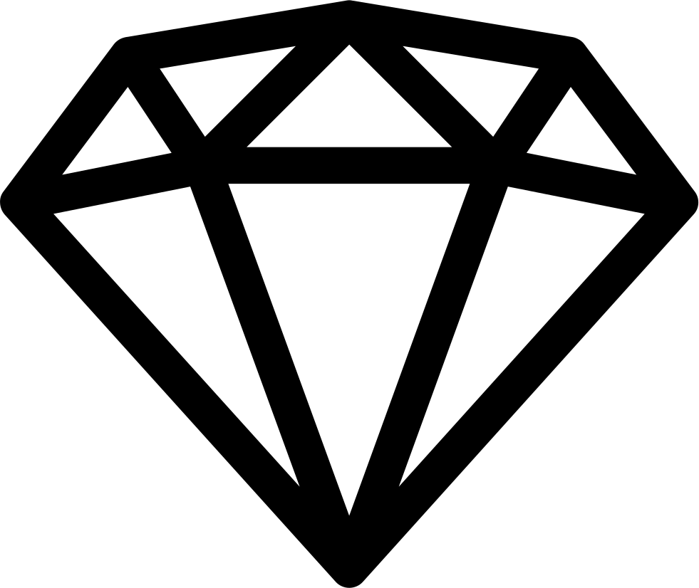 diamond svg png icon free download 427321