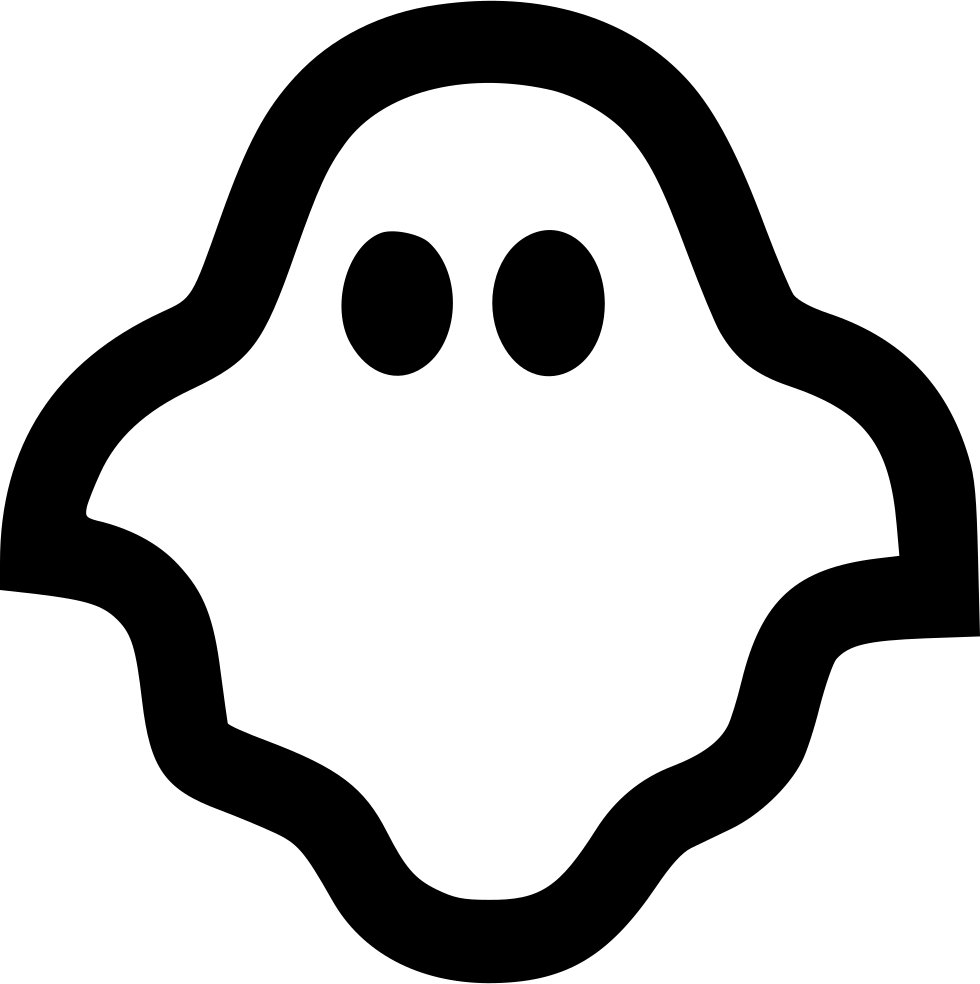 ghost svg png icon free download 431019