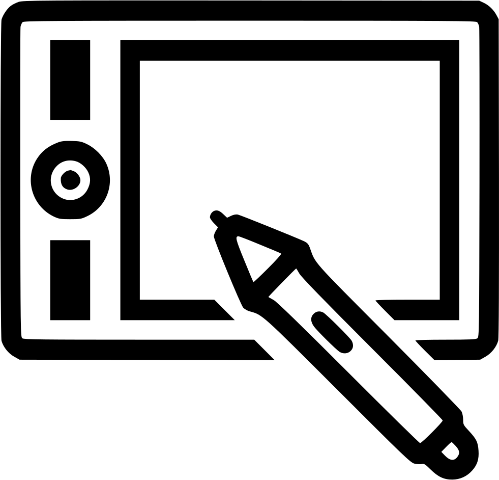 Wacom Tablet Svg Png Icon Free Download (#431412