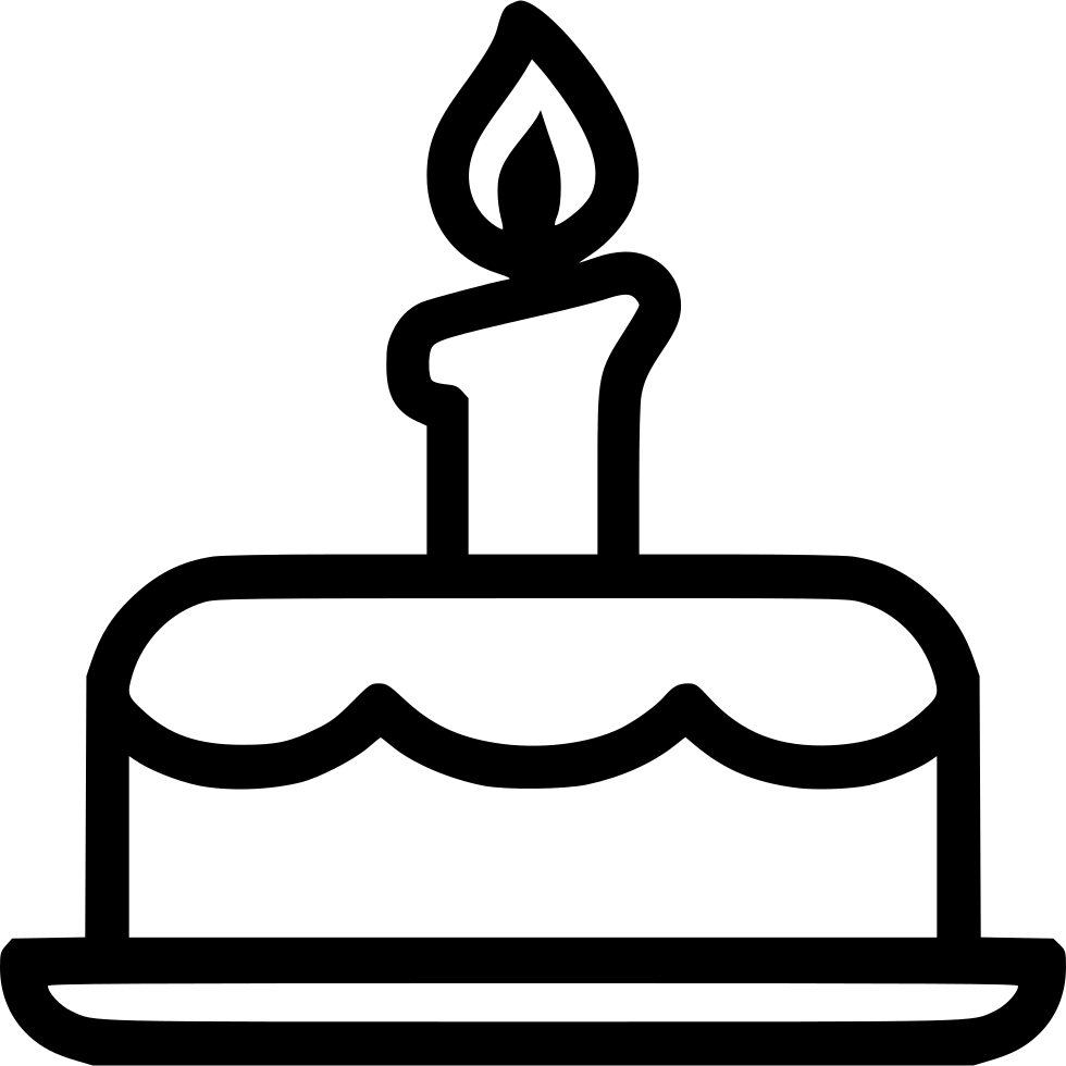 Birthday Cake Svg Png Icon Free Download 431545 Onlinewebfonts Com