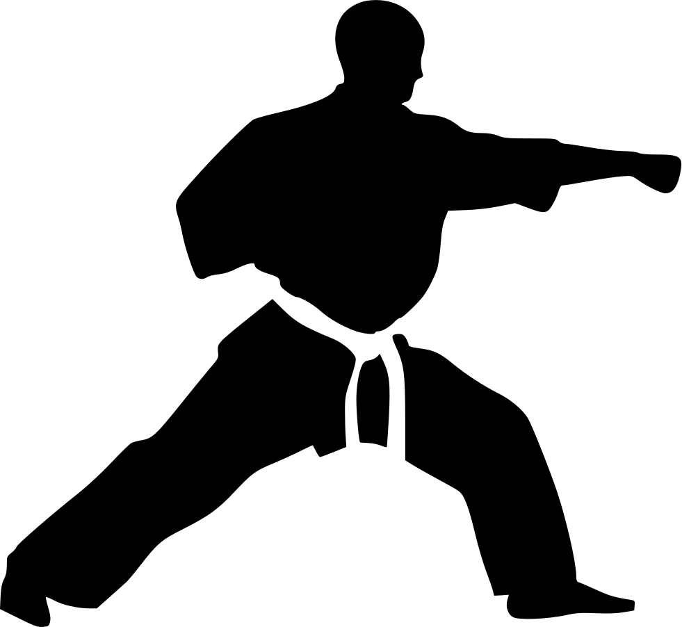 Karate Punch Svg Png Icon Free Download 432905