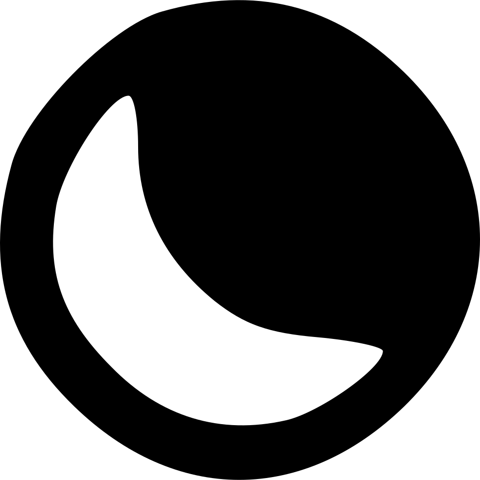 Moon Svg Png Icon Free Download (#433608) - OnlineWebFonts COM