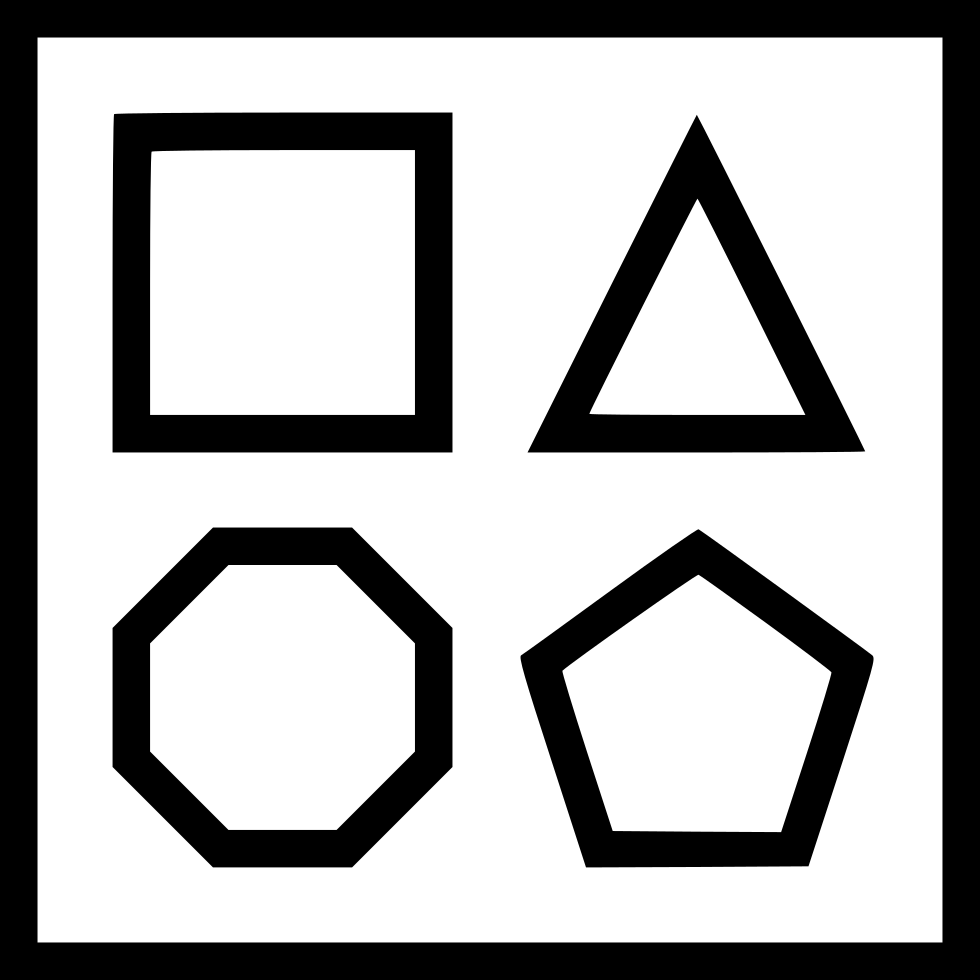 Shape Square Triangle Hexagon Pentagon Editor Svg Png Icon Free