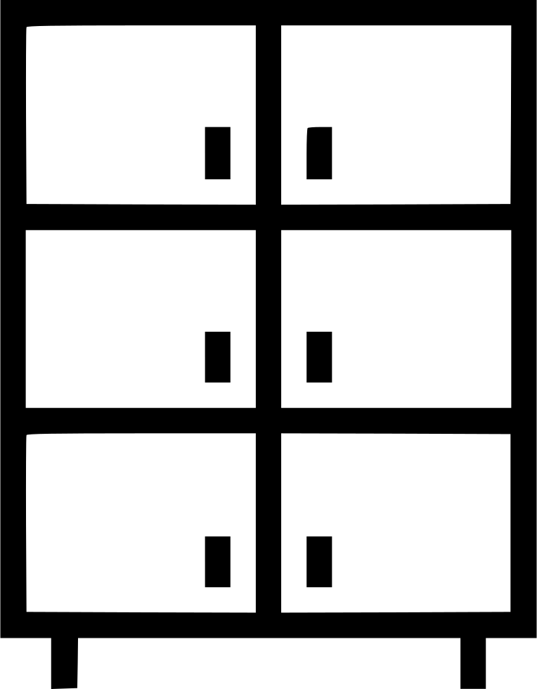 Closet cupboard cabinet storage svg png icon free download for Closet icon