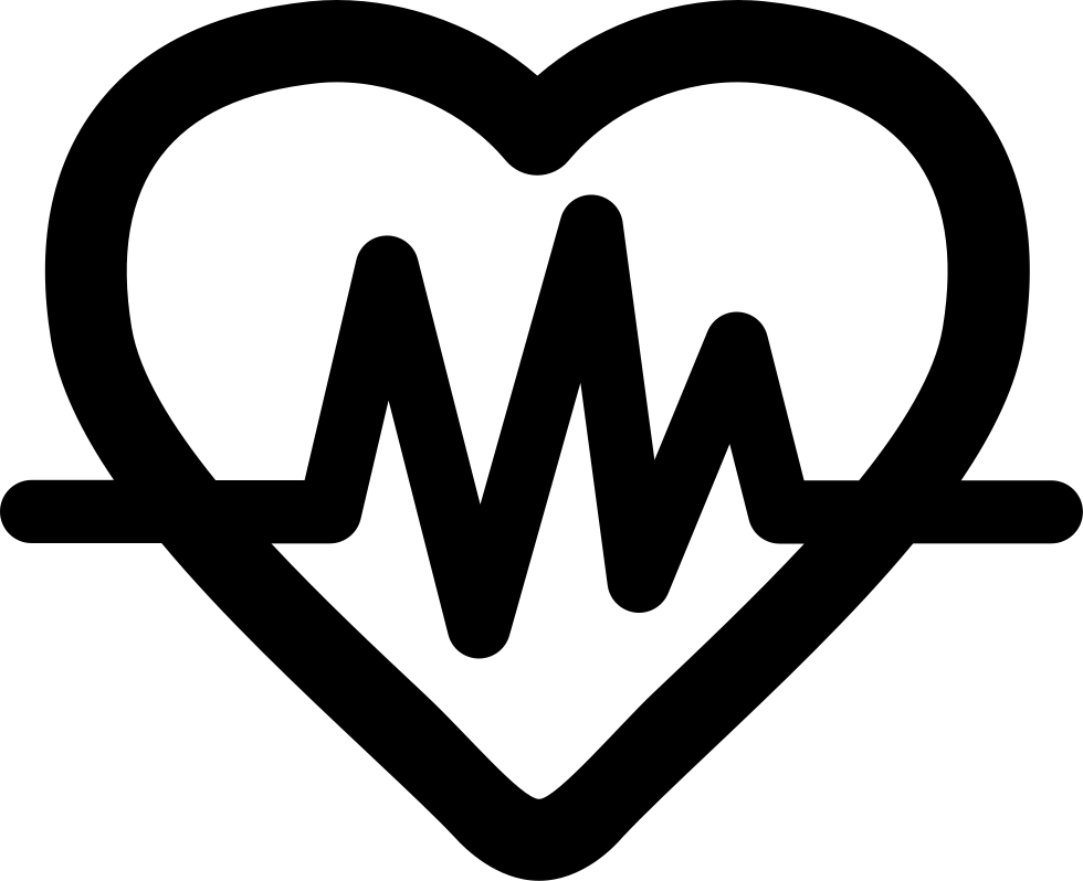 Heart With Lifeline Svg Png Icon Free Download 43513
