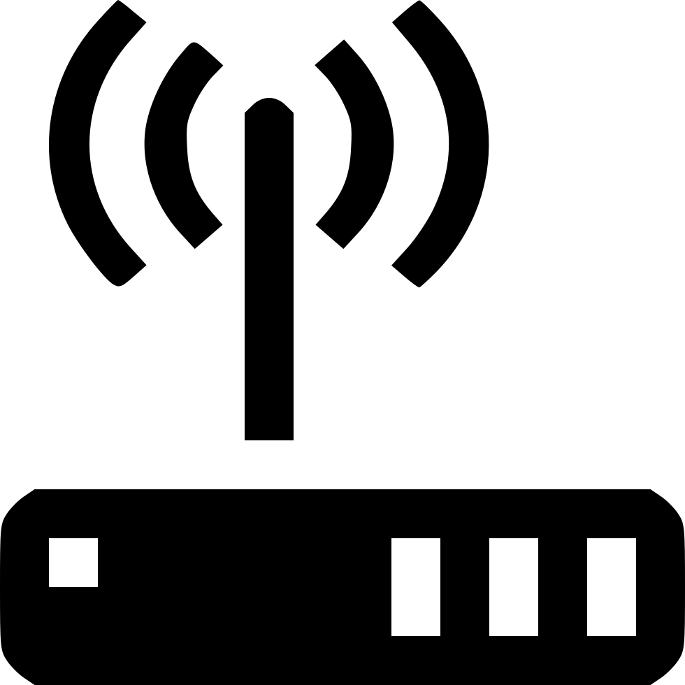 wireless router svg png icon free download 438294