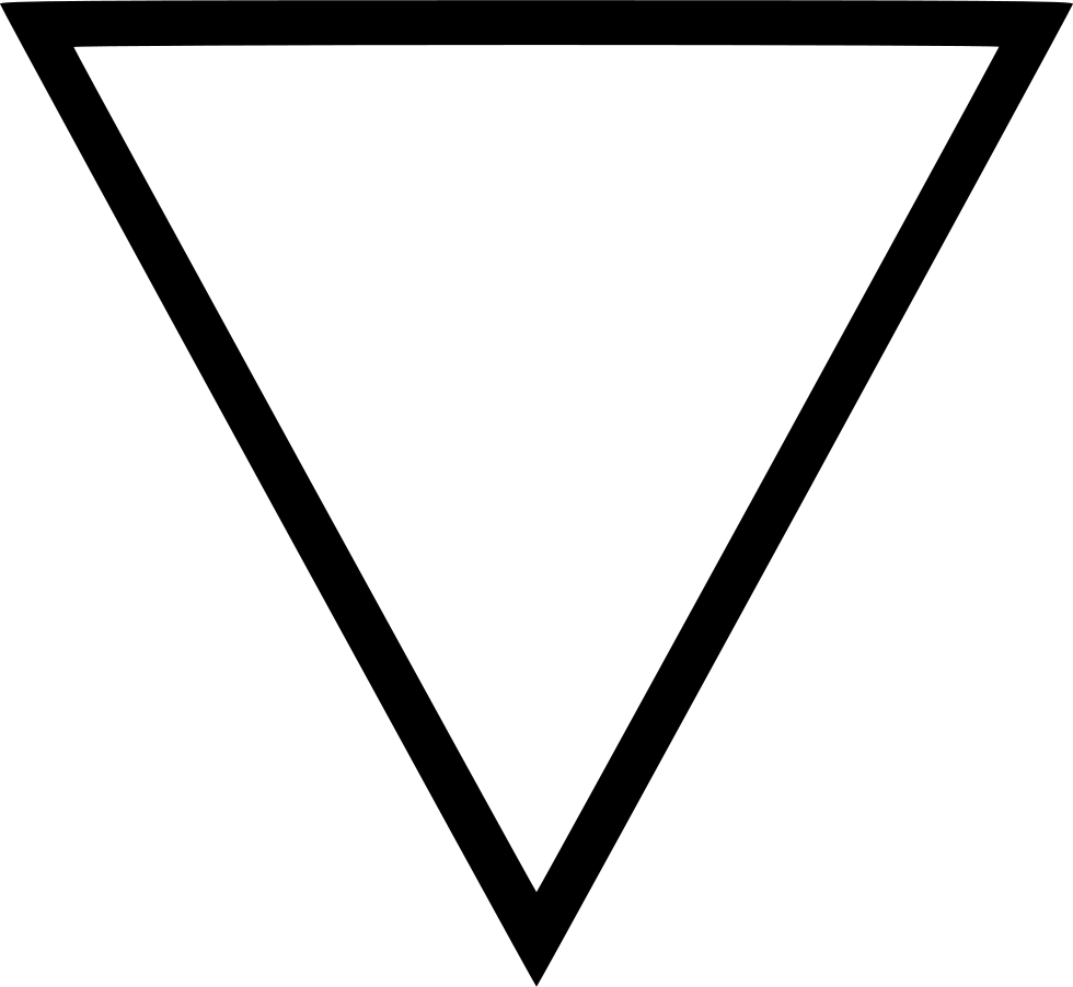 f down backward direction triangle download svg png icon