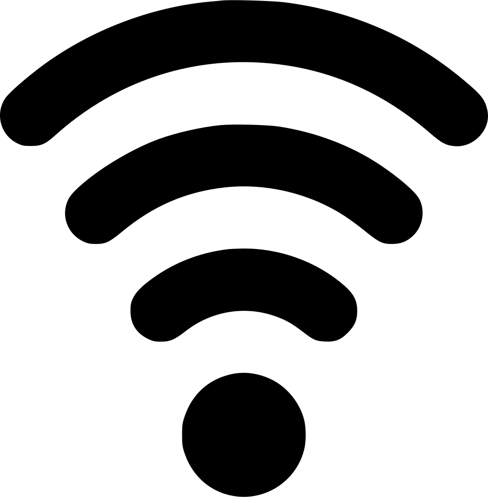 Connection Signal Wifi Waves Network Svg Png Icon Free ...