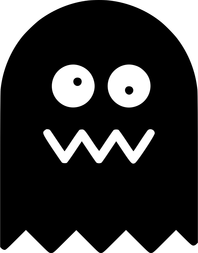 Pacman ghost svg png icon free download (#443002) onlinewebfonts. Com.