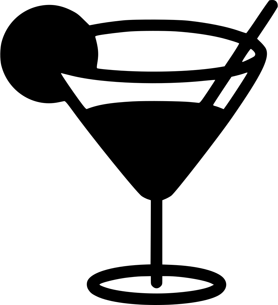 Martini Glass Svg Png Icon Free Download 443373