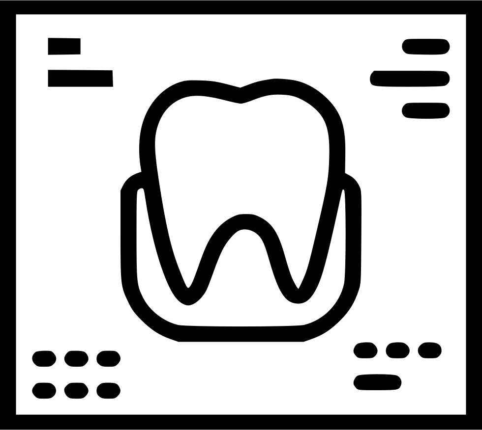 Dental X Ray Svg Png Icon Free Download (#444819) - OnlineWebFonts.COM