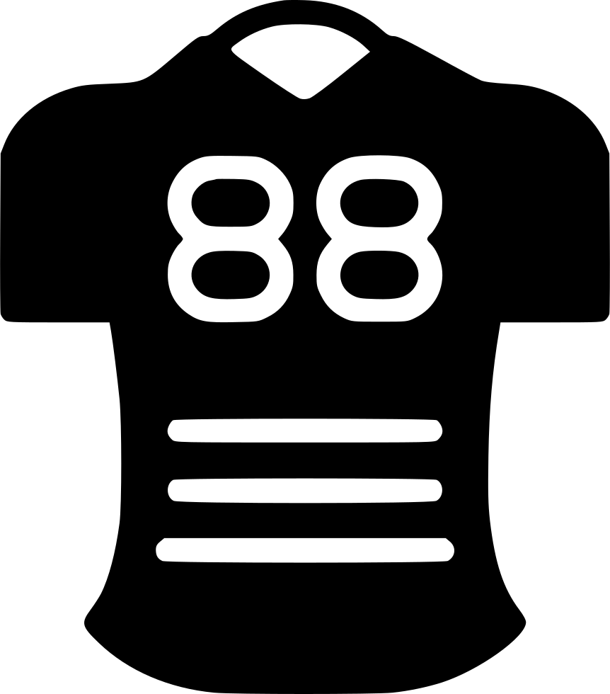 Football Jersey Svg Png Icon Free Download (#445685