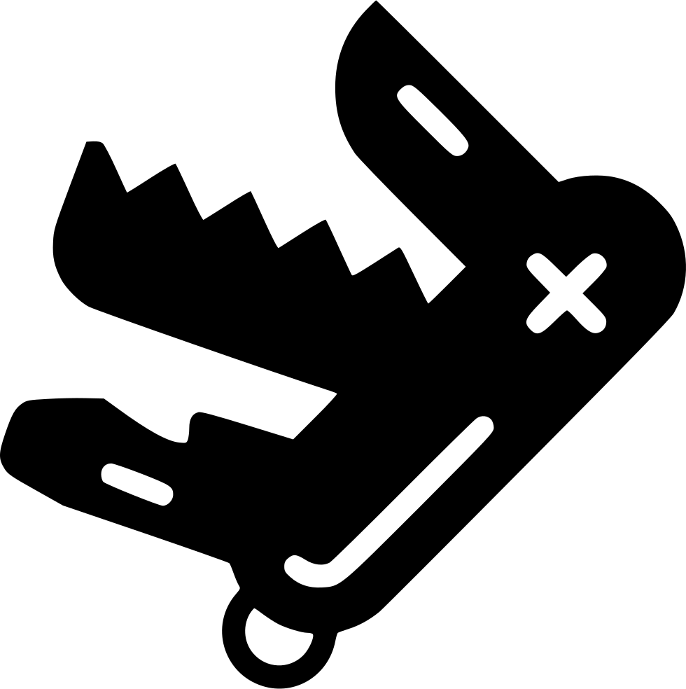 Swiss Army Knife Svg Png Icon Free Download 447011