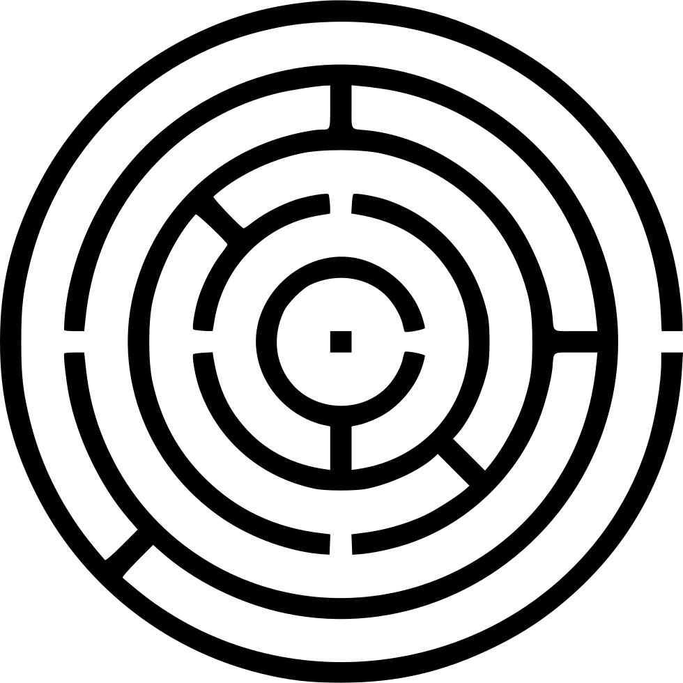 maze labyrinth svg png icon free download   453092