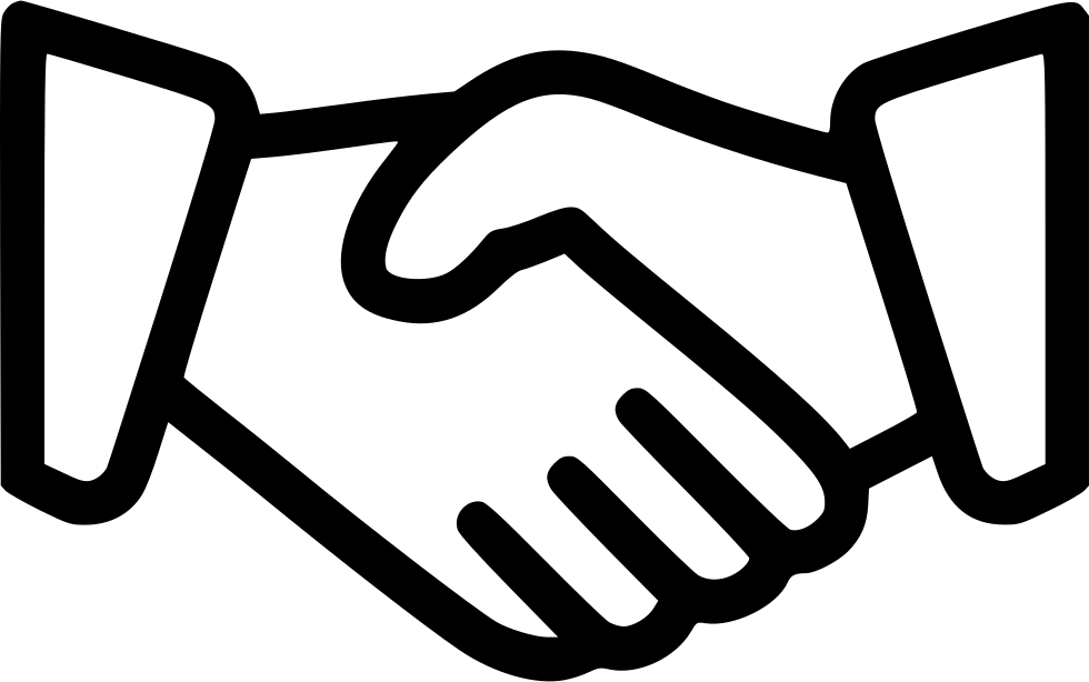Hand Shake Svg Png Icon Free Download (#453436 ...