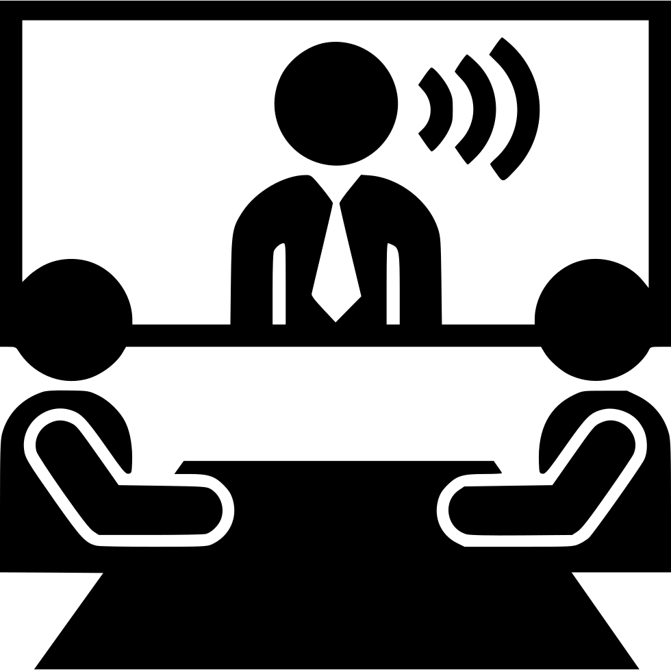 video conference distance communication meeeting svg png
