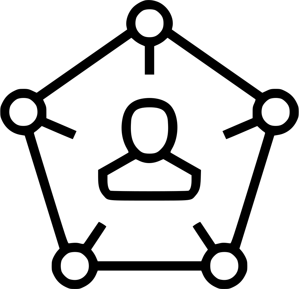 personal connection icon icons svg network social onlinewebfonts