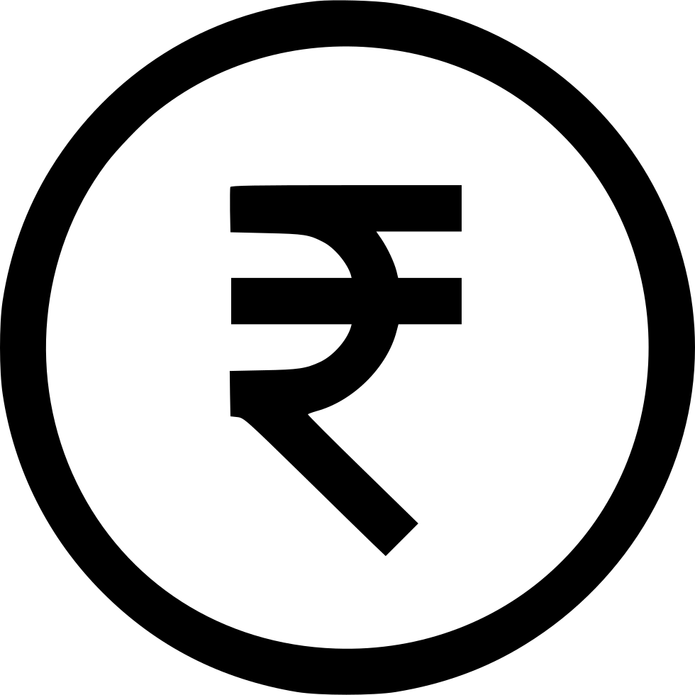 Currency Financial Price Indian Rupee Svg Png Icon Free Download