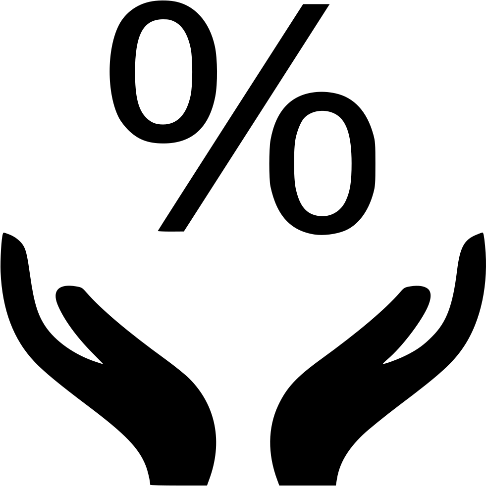 Percentage Rate Percent Finance Money Svg Png Icon Free