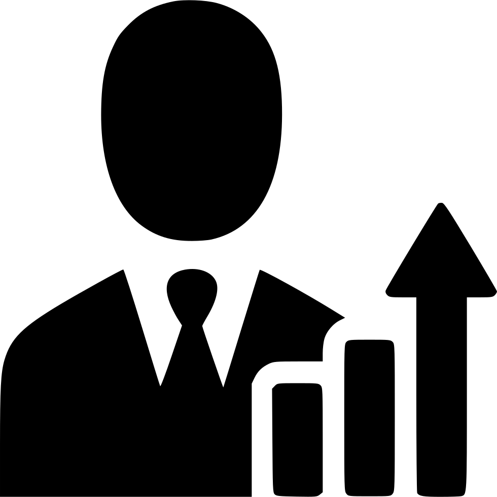 Businessman Income Increase Growth Profit Salesman ...