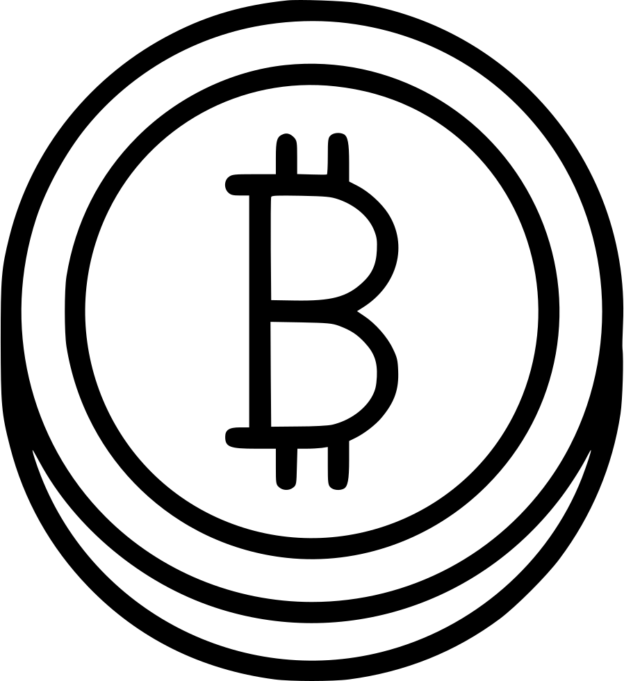 Online Digital Currency Bitcoin Online Electronic Svg Png
