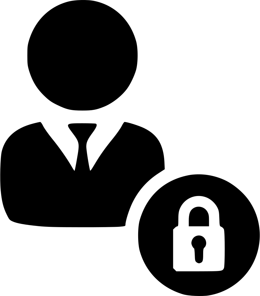 user profile login secure authenticate verify access svg png icon