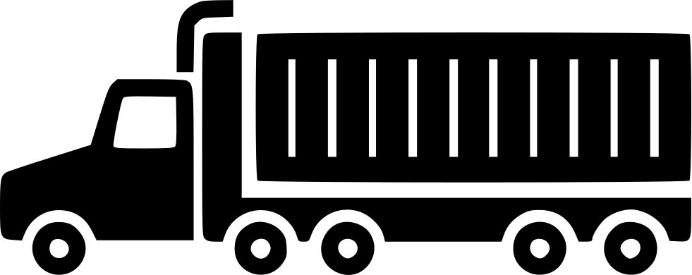 trailer truck svg png icon free download   459524