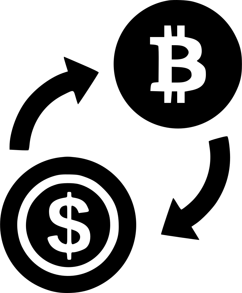 Exchange Bitcoin Dollar Svg Png Icon Free Download ...