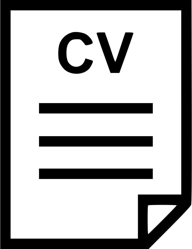 Cv File Svg Png Icon Free Download 461669