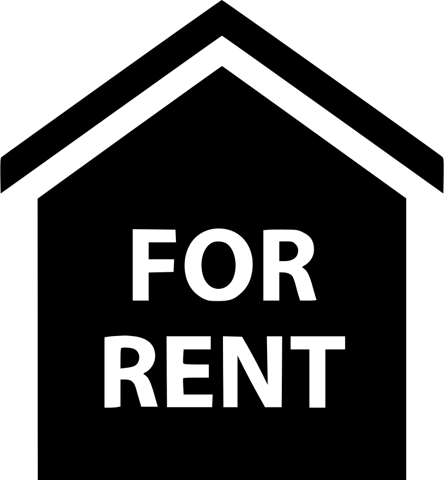 Rent Home: For Rent House Real Estate Home Svg Png Icon Free Download