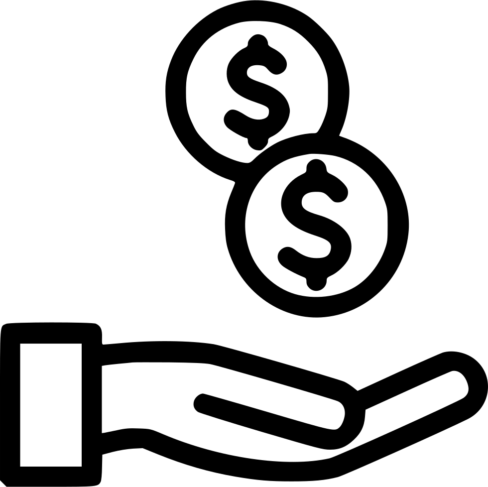 Money Payment Dollar Coins Cash Svg Png Icon Free Download ...