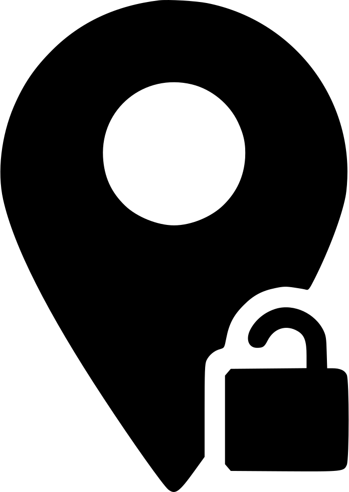 Location Marker Unlock Pin Svg Png Icon Free Download (#467219