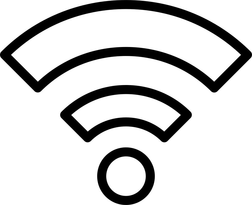 Wifi Outline Symbol In A Circle Svg Png Icon Free Download 46762