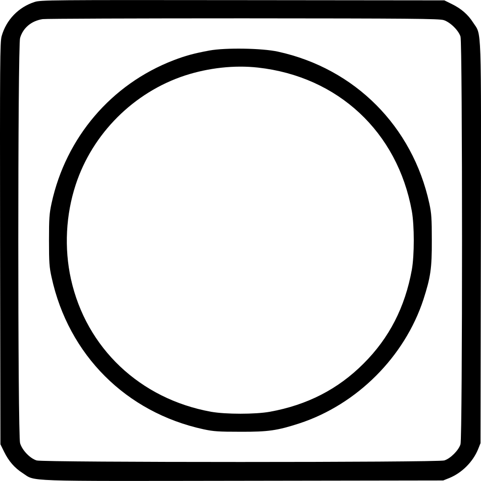 Picture Frame Circle Square Svg Png Icon Free Download ...