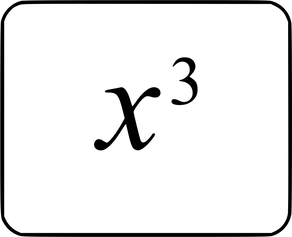 X Degree Cube Math Function Svg Png Icon Free Download 474155