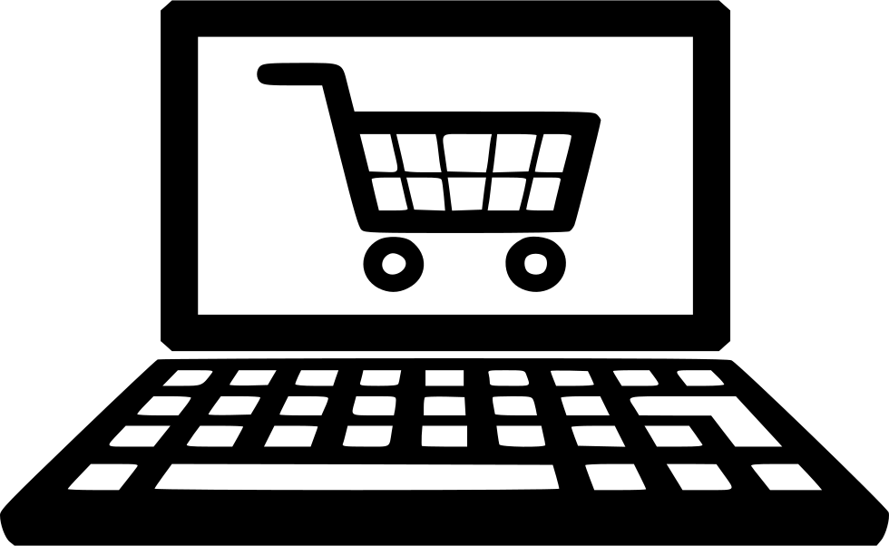 Shopping Cart Ecommerce Mobile Laptop Svg Png Icon Free
