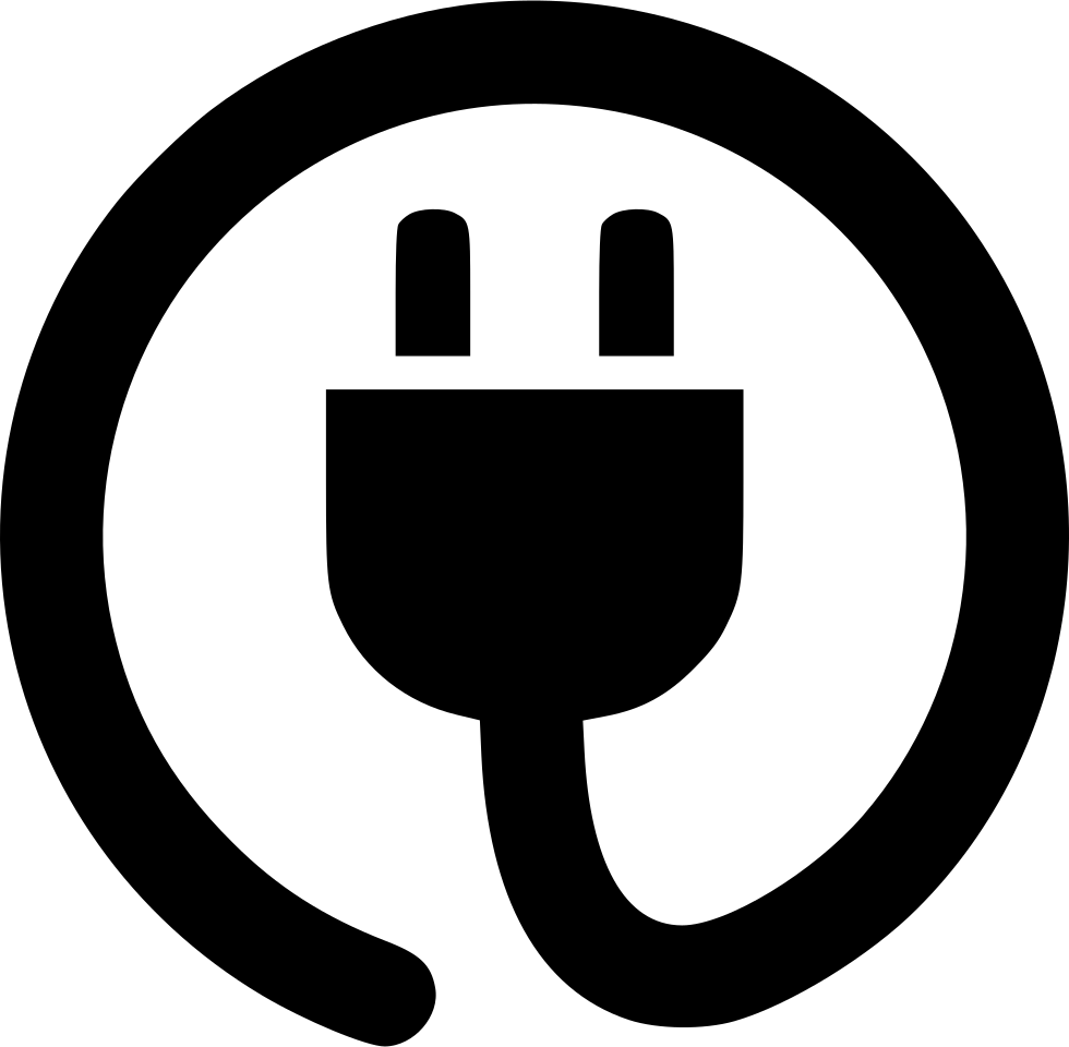 cable power cord plug circle svg png icon free download