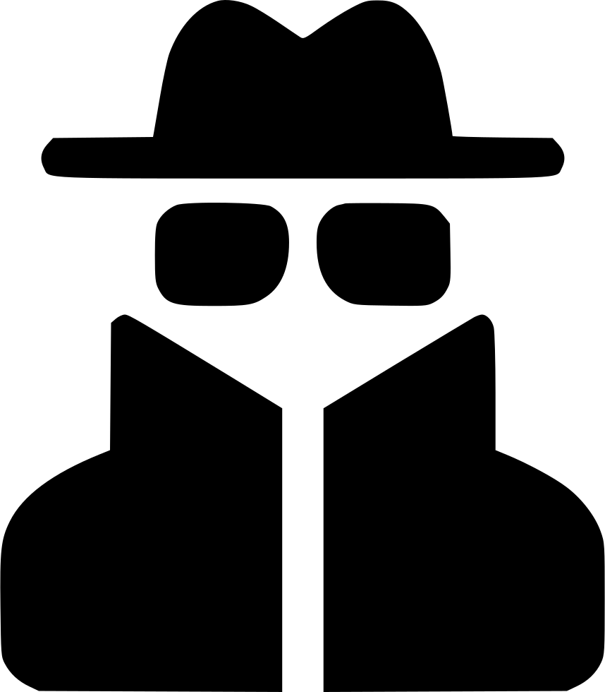 User Spy Thief Glasses Hat Svg Png Icon Free Download