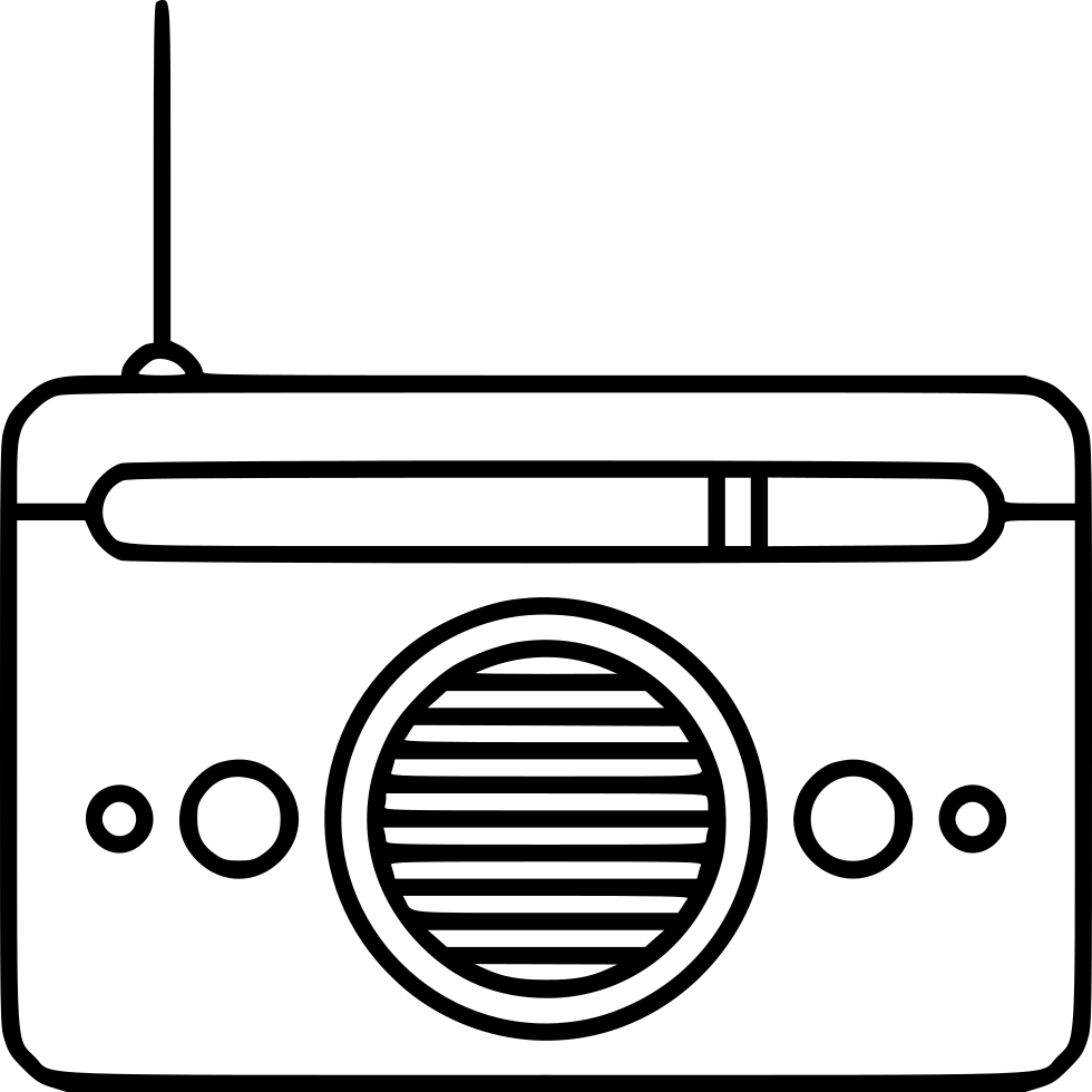 Radio Svg Png Icon Free Download (#475976) - OnlineWebFonts COM